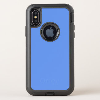 Cornflower-Blau OtterBox Defender iPhone X Hülle