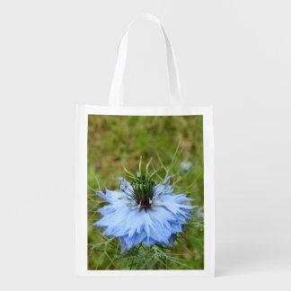 Cornflower-wiederverwendbare Tasche Wiederverwendbare Einkaufstasche