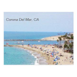 Corona del Mar, CA Postkarte