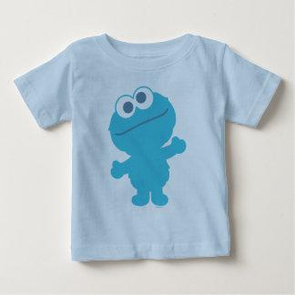 Corps de bébé de monstre de biscuit tshirts