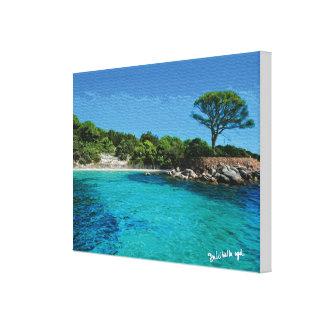 Corsica Gespannte Galerie Drucke