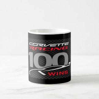 CORVETTE RACING 100 WINS- MUG KAFFEETASSE