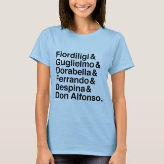 Così Fan tutte Charakter-Shirt T-Shirt