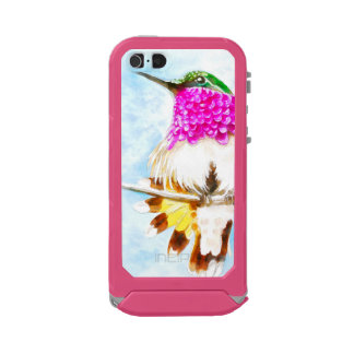 Costa-Kolibri-Aquarell Incipio ATLAS ID™ iPhone 5 Hülle