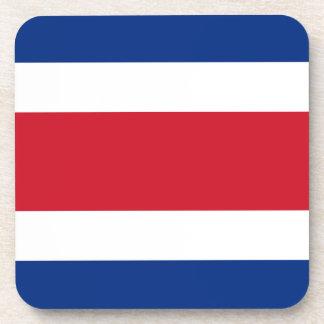 Costa Rica-Flagge Getränkeuntersetzer
