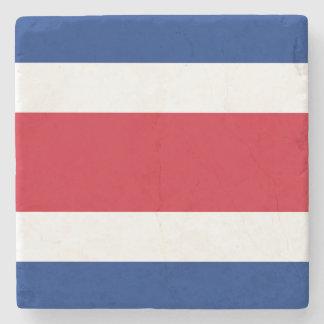 Costa Rica-Flagge Steinuntersetzer