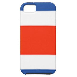 Costa Rica-Flagge Tough iPhone 5 Hülle
