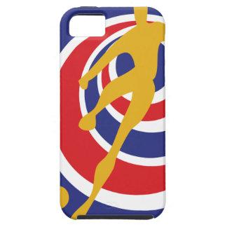 Costa Rica futbol iPhone 5 Hülle