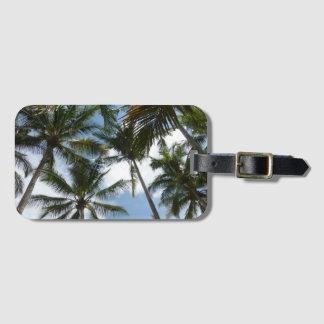 Costa Rica-Palme-Strand-Gepäckanhänger Gepäckanhänger