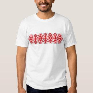 costume folklorique véritable de symbole populaire tee shirts