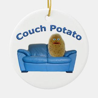 Couch-Kartoffel-Keramik-Verzierung Keramik Ornament