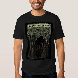 Couleur de T-shirt de monstre de marais d'île de