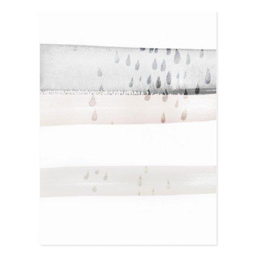 couleur pour aquarelle abstraite carte postale