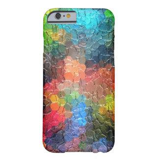 Couleurs dynamiques abstraites de la peinture | coque iPhone 6 barely there