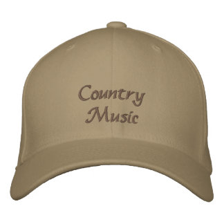 Countrymusik-Baseballmütze Baseballmütze