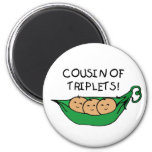 Cousin de cosse de triplets magnets