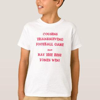 COUSIN-ERNTEDANK-FUSSBALL-SPIEL 2009MAY… T-Shirt