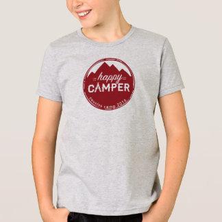 Cousin-Lager-glücklicher Camper T T-Shirt