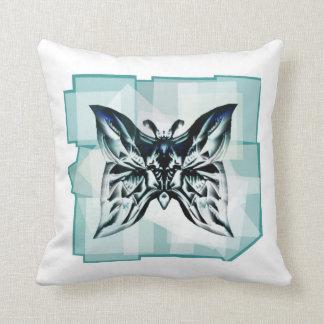 Coussin ´´ bleu-clair de Kissen `` Mariposa