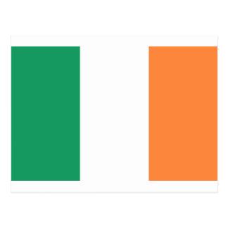 Coût bas ! Drapeau de l'Irlande Carte Postale