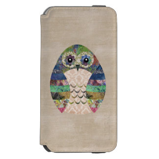 Coutume de Bohème d'oiseau de Boho de rétro hibou Coque-portefeuille iPhone 6 Incipio Watson™