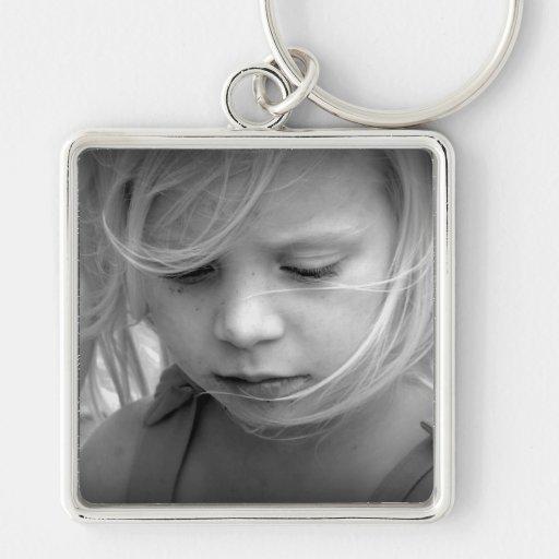 Coutume votre keychain personnalisé par photo porte-clés