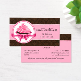Couture-Kuchen-Bäckerei Visitenkarten