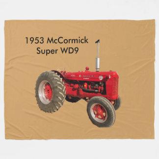 Couverture 1953 superbe d'ouatine du tracteur WD9