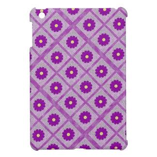 Couverture florale abstraite d'ipad de motif de po coque pour iPad mini