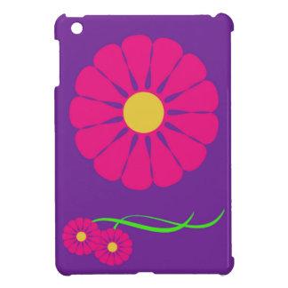 Couverture florale d'ipad étuis iPad mini