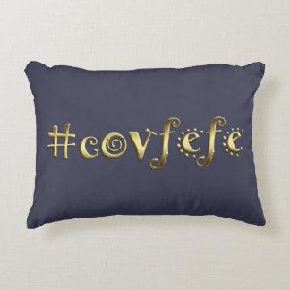 #covfefe! deko kissen