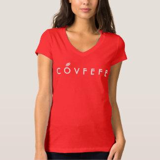 COVFEFE mit hashtag Akzentkennzeichen | lustigem T-Shirt