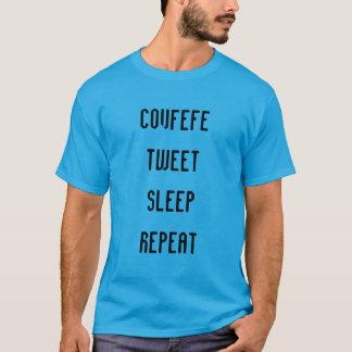 COVFEFE, TWEETEN, SCHLAFEN, WIEDERHOLEN | das T-Shirt