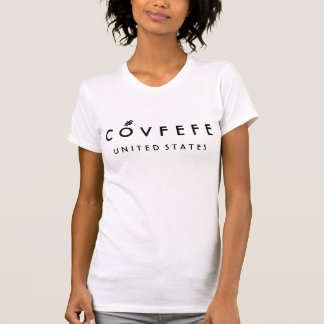 COVFEFE Vereinigte Staaten | die weiße Baumwolle T-Shirt