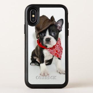 Cowboy Boston OtterBox Symmetry iPhone X Hülle