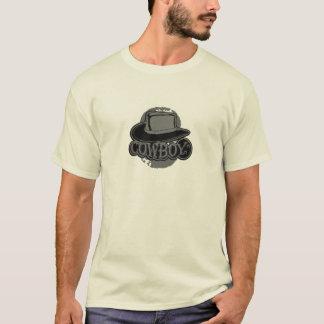 Cowboy! Hut! Schwarzes und Grau T-Shirt