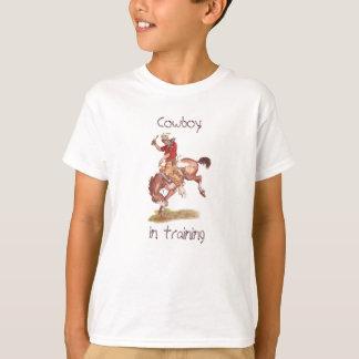 Cowboy im Training T-Shirt