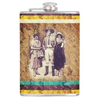 Cowboy Ladys Mann-Flasche Flachmann