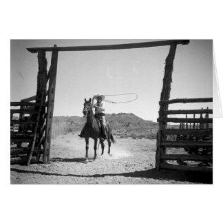Cowboy roping karte