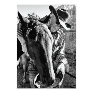 Cowboyhoedown-Einladung Karte