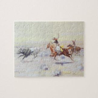 Cowboys vom Bar-Dreieck durch cm Russell