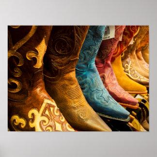 Cowboystiefel für Verkauf, Arizona Poster