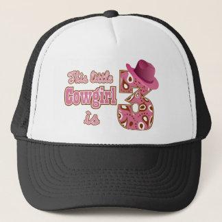 Cowgirl-3. Geburtstag Truckerkappe