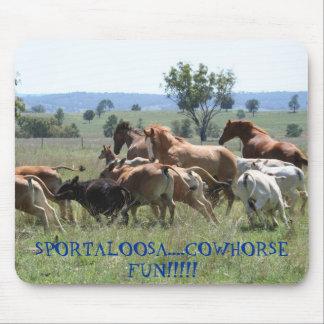 Cowhorse Spaß Mousepad