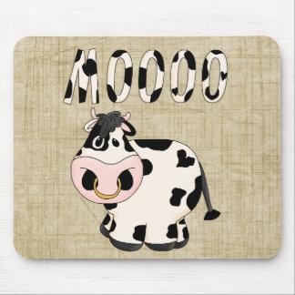 Cowpoke-Land-Spaß Moooo Stier Mousepad