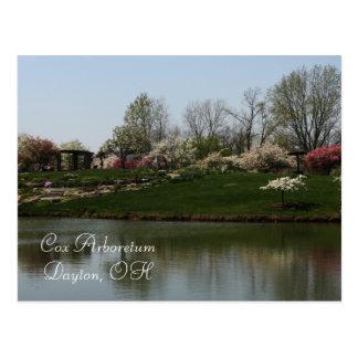 Cox-Arboretum, Dayton, OH- Postkarte