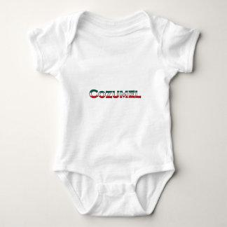 Cozumel-Logo (Text) Baby Strampler