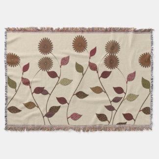Cozy Blumen-Fall-Blumendecke Decke