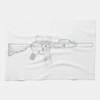 CQBR MK18 Mod 0 Küchen-Tuch Handtuch
