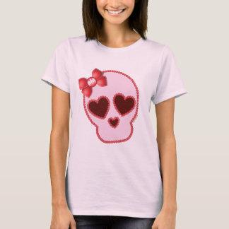 Crâne de Batgirl avec l'arc T-shirt